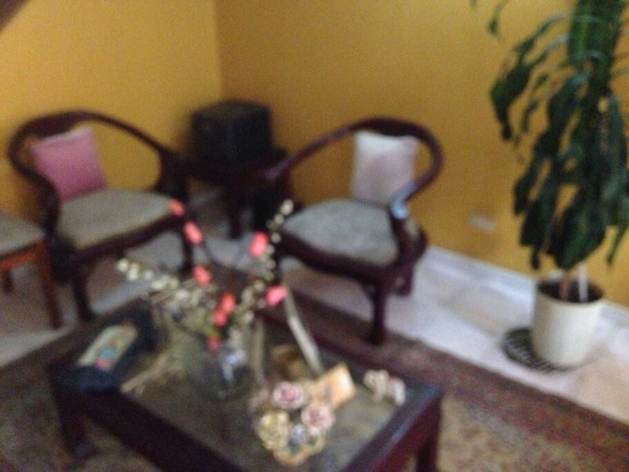 foto de la sala de la casa