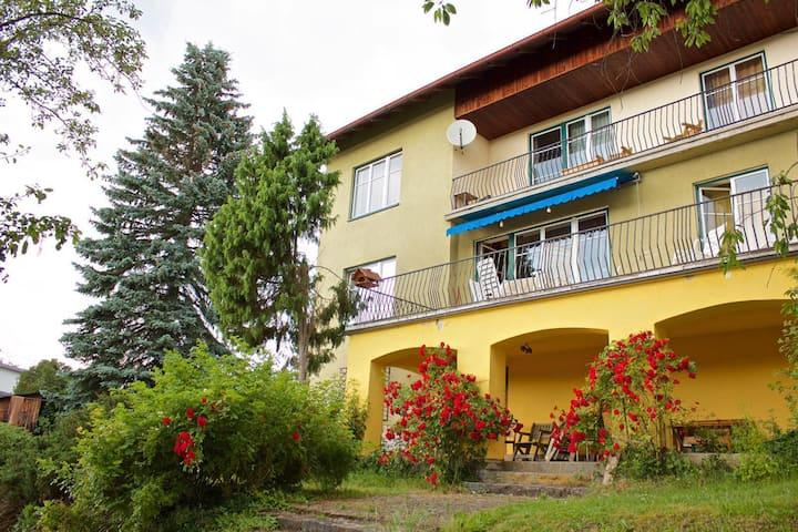 Privatwohnung mit Schlossblick