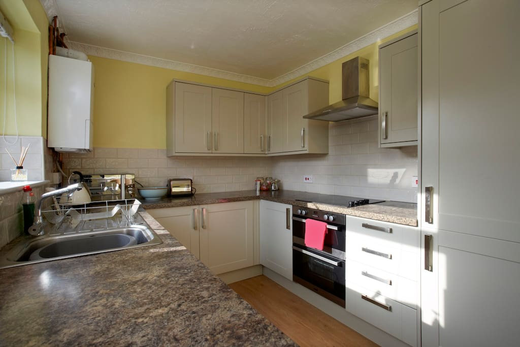 New, modern fitted kitchen