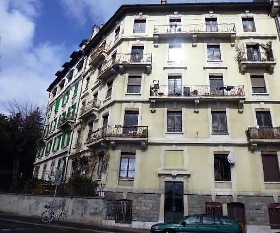 Renovated studio near the gare and United Nations - Genève