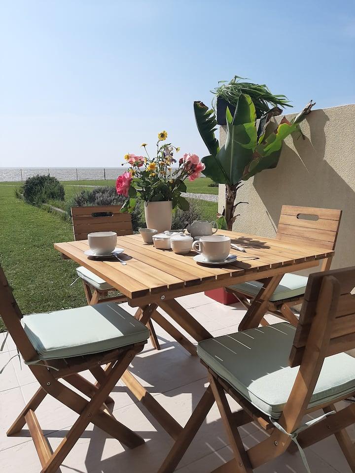 Studio-terrasse 3* bord de mer Châtelaillon plage