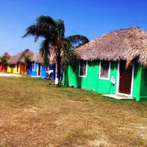 Cabañas en La Pesca Tamaulipas - Altamira