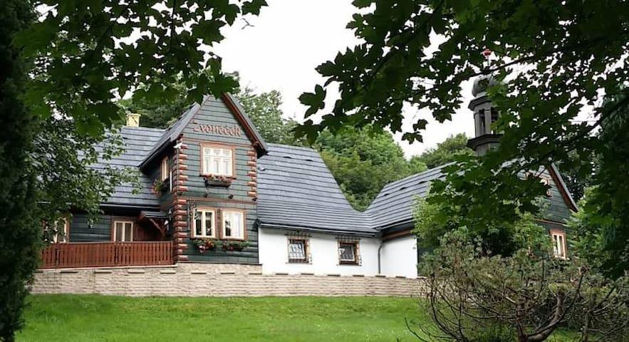 Horská chata Zvoneček - Jiřetín pod Jedlovou
