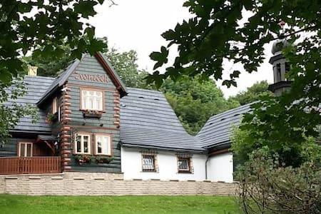 Horská chata Zvoneček - Jiřetín pod Jedlovou - Almhütte