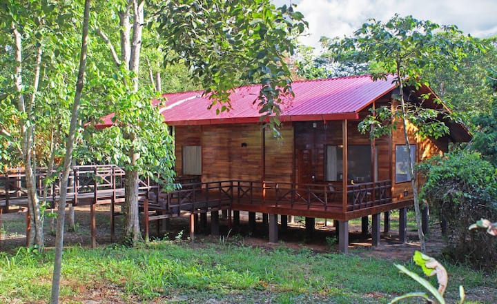 Bungalo ECO for 1 person en Ecolodge Uni Rao