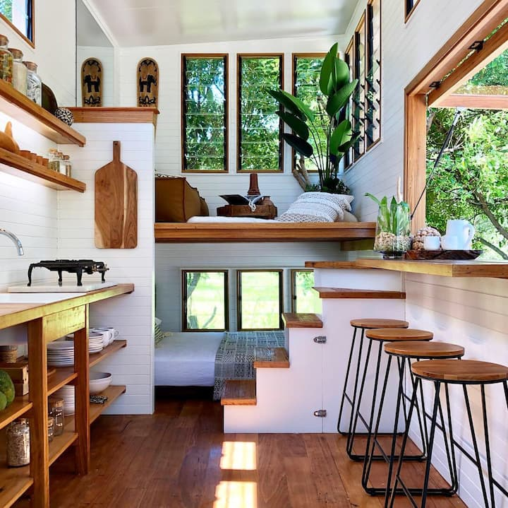 Beautiful Tiny House in the Byron Hinterland