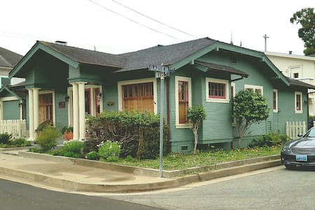 The Mermaid House -Cozy 1928 California Bungalow - 太平洋叢林(Pacific Grove)