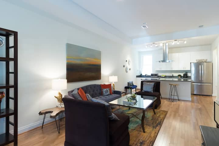 2 BR condo steps from U St and Logan Circle
