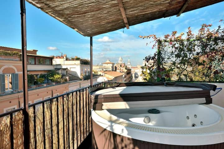 ☀️ Corso Penthouse with Jacuzzi SPA ☀️
