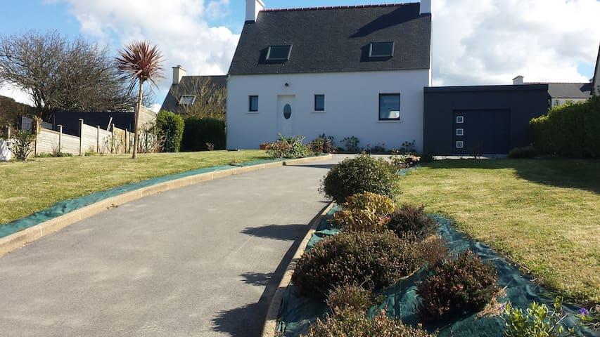 Maison pays des Abers à 100 m de la plage - Saint-Pabu
