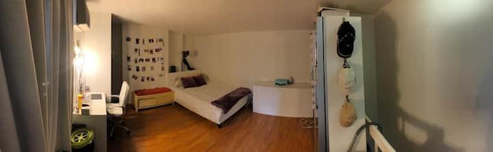 Private room in gorgeous FiDi Duplex&Private Patio