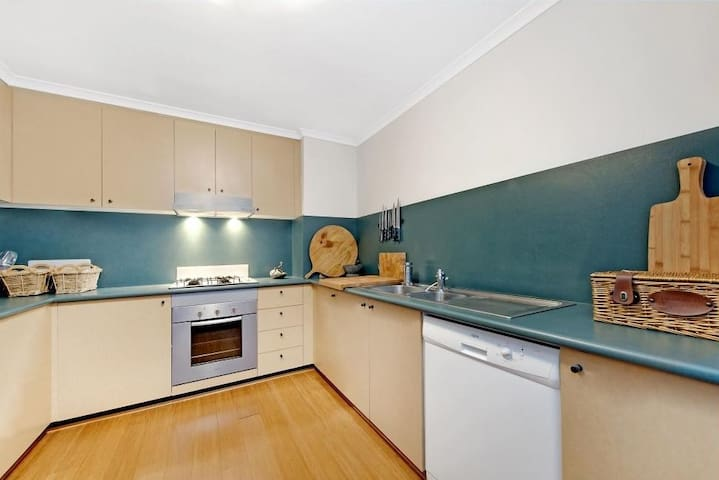 Large low maintenance kitchen