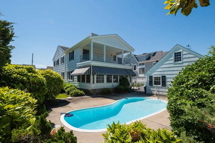 Amazing rental with pool only steps to the beach!
