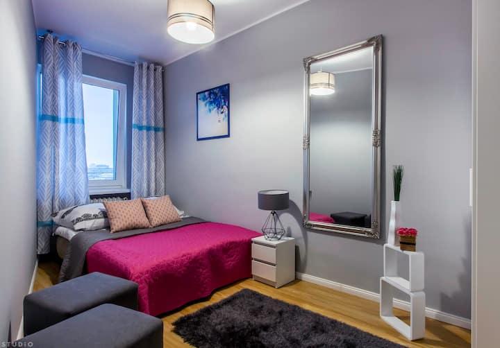 Tamka 49 Street Room in the heart of Warsaw (3)