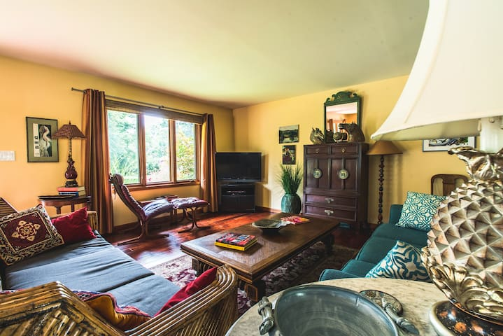 The Gardening Artist's House