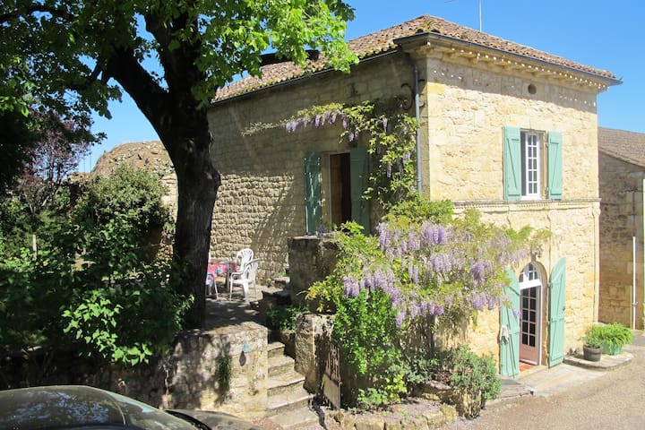 Rustic village house in Dordogne - Molieres - Casa
