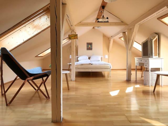 Zentrale, charmante 4 Zimmerwohnung im Bachletten