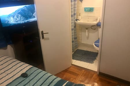 Private room with bathroom
