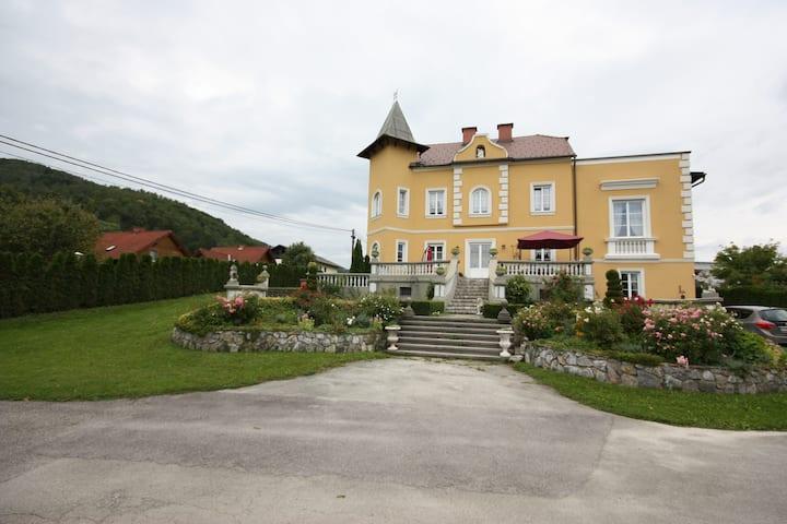 Wohnung in der Löwen-Villa aus dem Jahr 1900