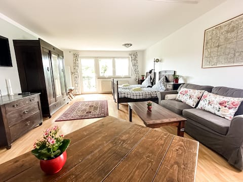 ☀Apartment near Auensee with BBQ &private parking☀