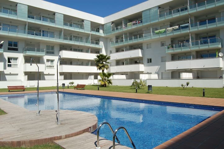Beautiful apartment in Santa Margarita (Roses) with pool and parking. Ideal families. - Roses - Appartement