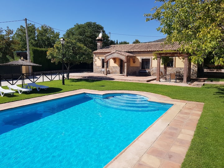 Country home with private pool