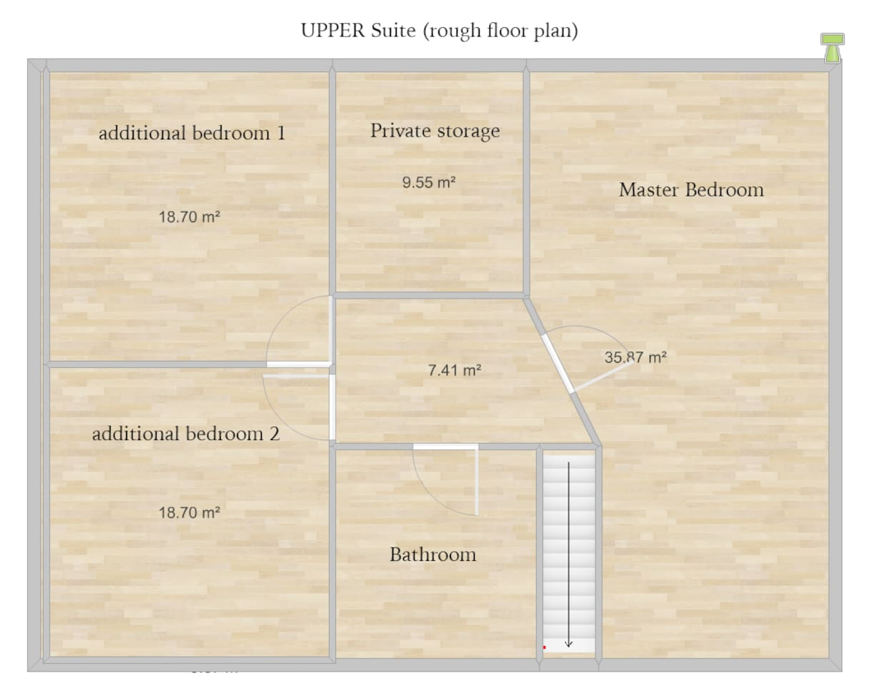 We renovating right now - this is the floorplan