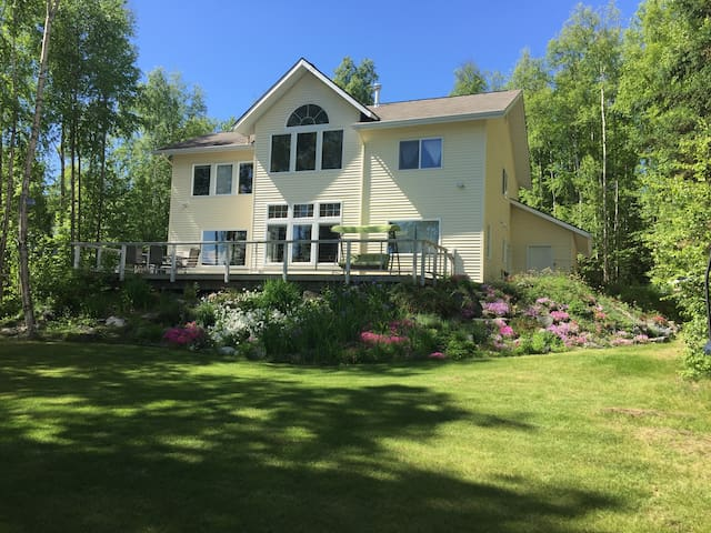 Alaska Lakefront BNB Winter Rooms & Rates