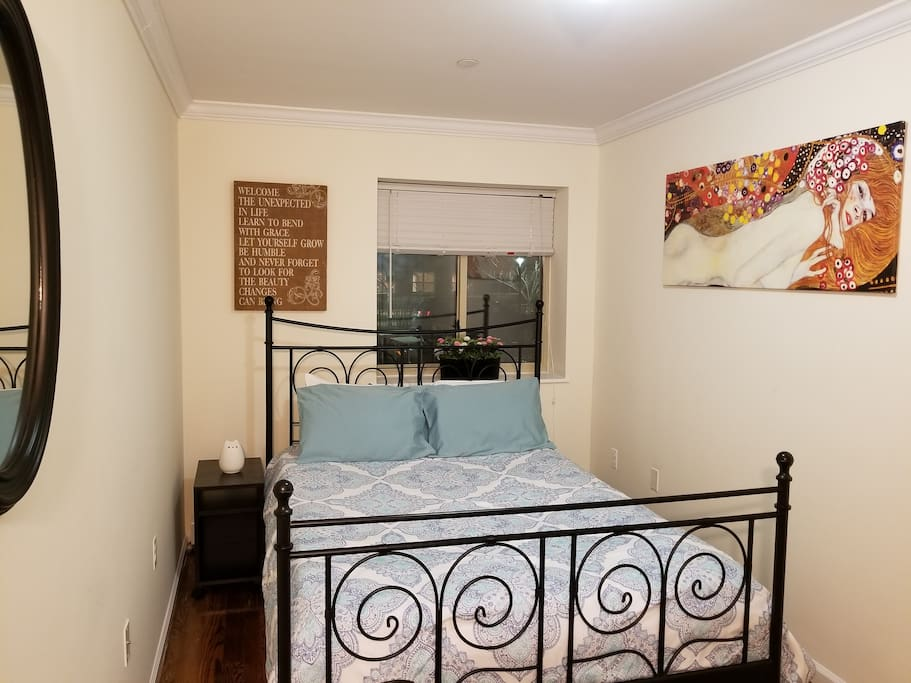 Private Second Bedroom with Queen Size Bed