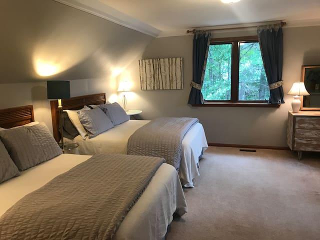 Bedroom 3, 2 Full Beds, 2nd Floor