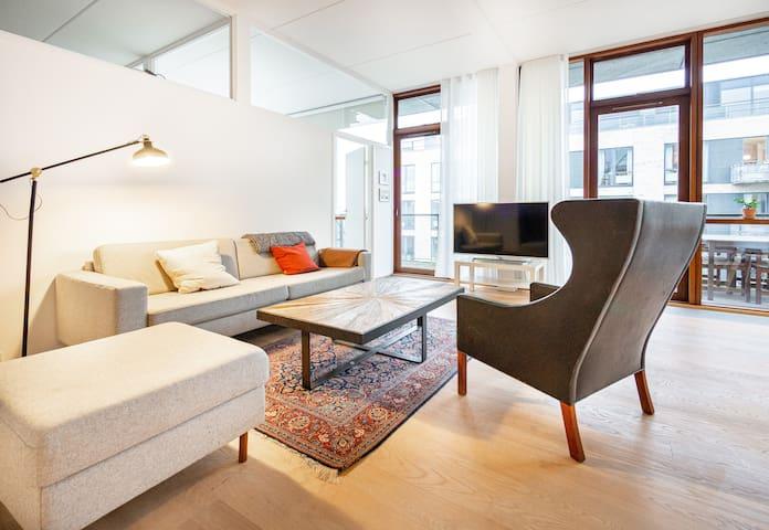 Optimal family & couples apartment in Copenhagen