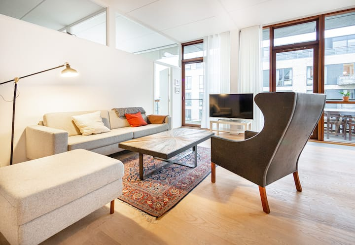 Optimal family & couples apartment in Copenhagen