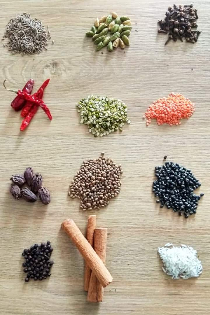 The beautiful and flavour rich spices