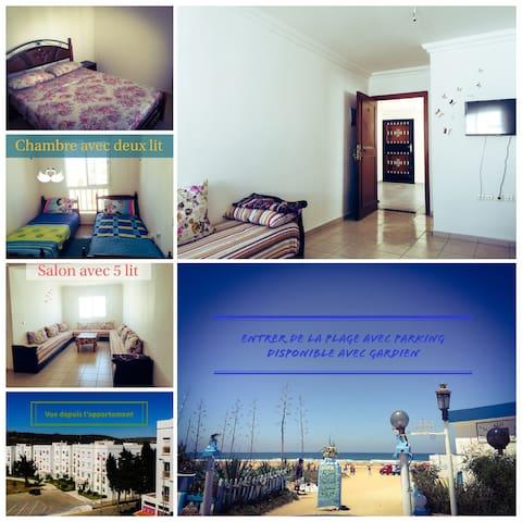 apartment near the beach and mountain