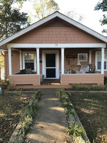 The Pumpkin: West Asheville Arts & Crafts Bungalow
