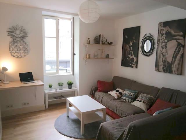 Beau studio dans l'hyper centre de Biarritz