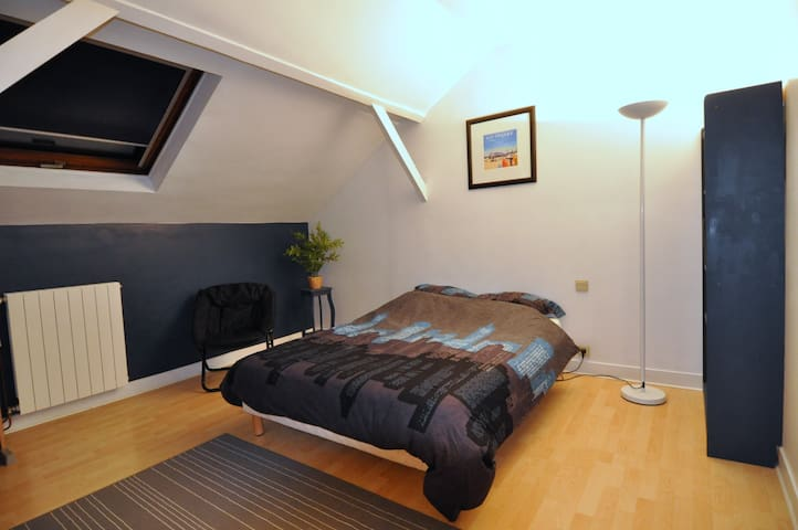 Chambre Bleue, pour 2 personnes - Villiers-sur-Marne - Dům