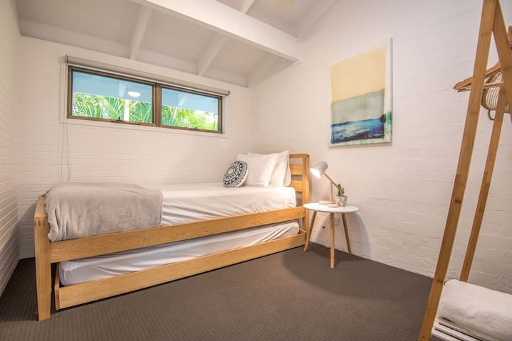 Bedroom Three - King Single plus King Single Trundle Bed - air conditioned