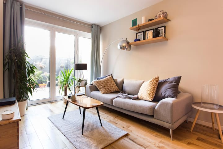 Brixton modern cool flat