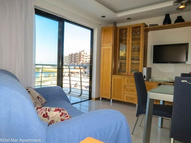 Seafront Apartment - Marsalforn - Apartment