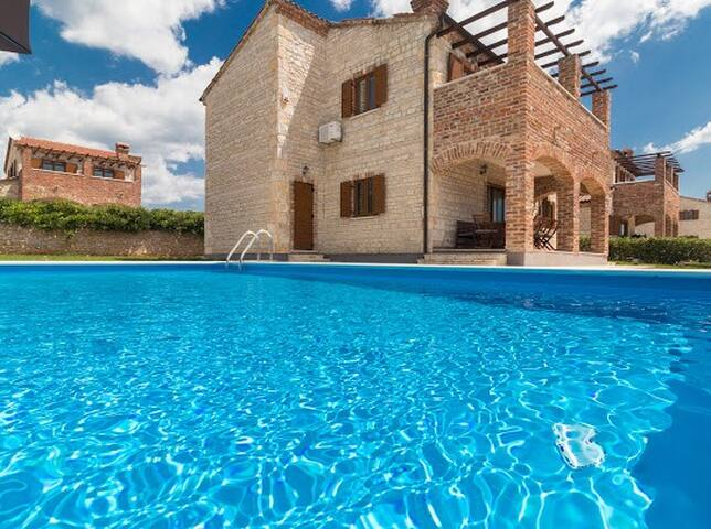 Villa Dinamik in Paradise Istria Croatia
