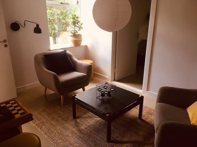 Nice room(4)in villa 10 min Roskilde/RUC