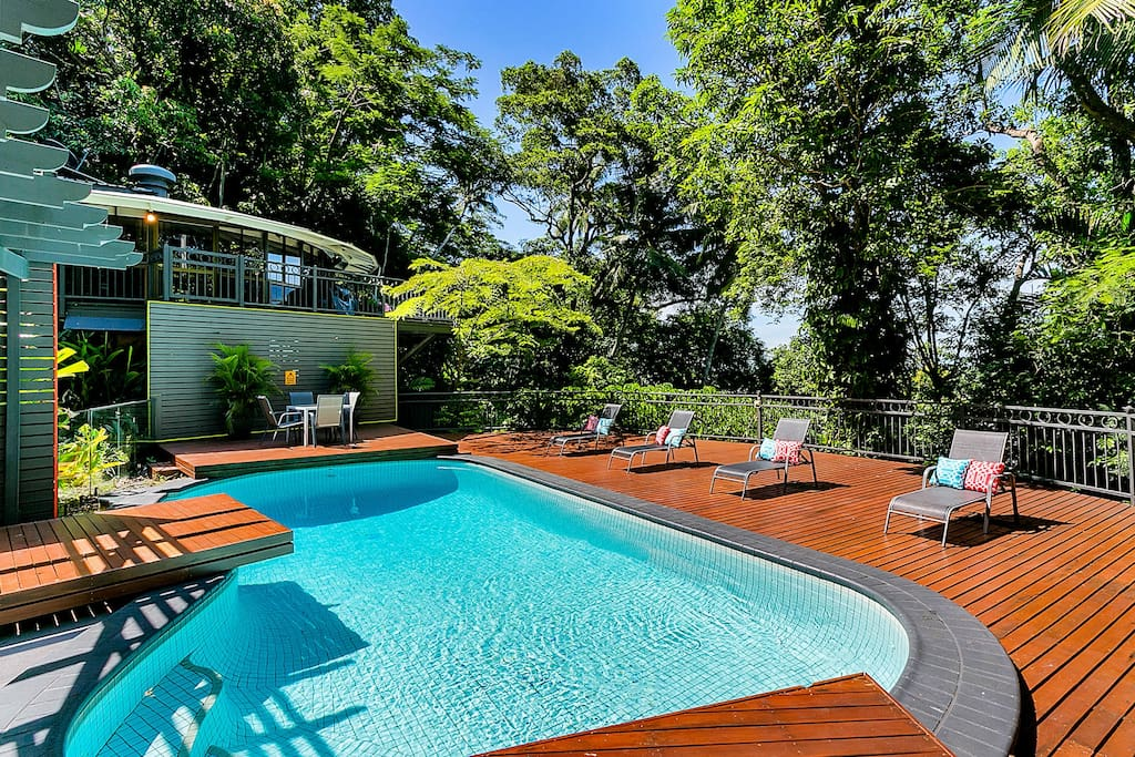 Exterior -  pool and deck