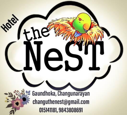 The Nest in historical Changunarayan, Nepal