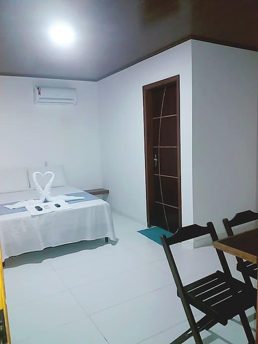 quartos climatizados
