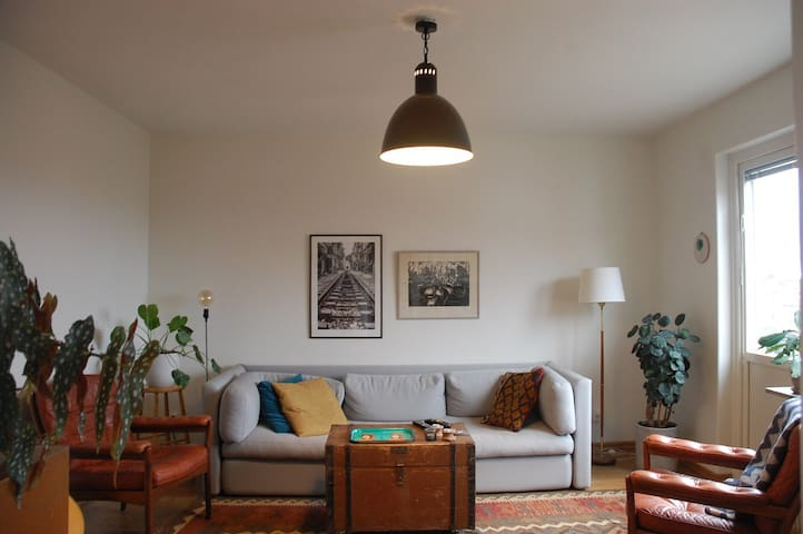 5★ sunny apartment 15 minutes from city center