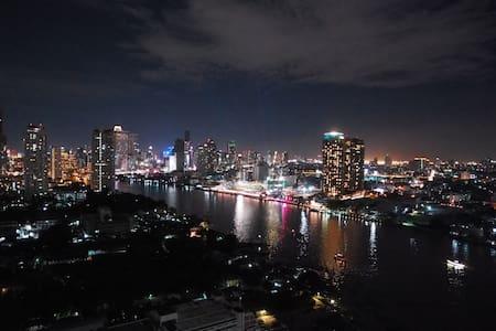 RiverviewStudioBR+nearCBD, BTS+Wifi - Бангкок