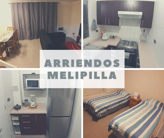 Linda Casa 3 Dormitorios - Centro de Melipilla
