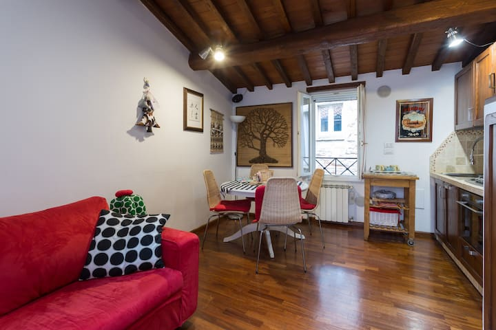elegante bilocale con terrazzo - Perugia - Daire
