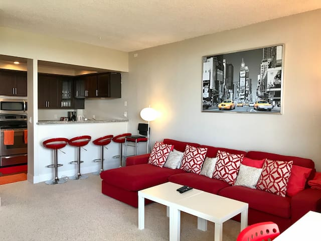 Downtown Upscale Apartment High Floor with View